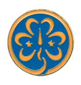 GIRL SCOUTS OF THE USA World Association Pin WAGGGS