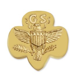 GIRL SCOUTS OF THE USA GS Membership Pin Traditional