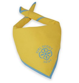 GIRL SCOUTS OF THE USA Official Daisy Scarf