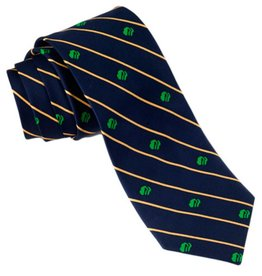 GIRL SCOUTS OF THE USA GS Men's Silk Striped Tie