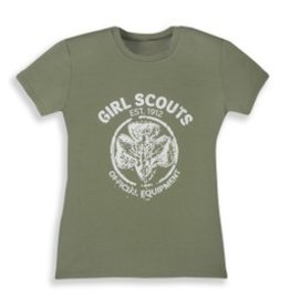 GIRL SCOUTS OF THE USA Traditional Vintage T-Shirt