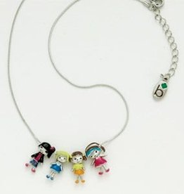 GIRL SCOUTS OF THE USA Brownie Friends Necklace