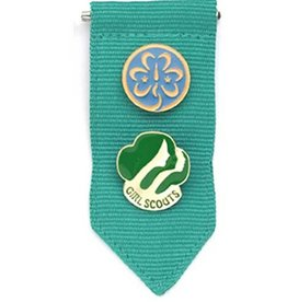 GIRL SCOUTS OF THE USA Junior Insignia Tab - Green