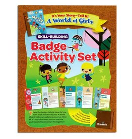 GIRL SCOUTS OF THE USA Brownie It's Your Story Badge Pkt