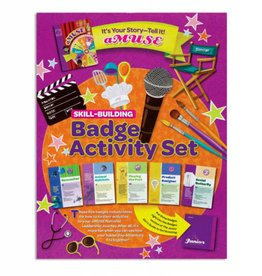 GIRL SCOUTS OF THE USA Junior It's Your Story Badge Pkt