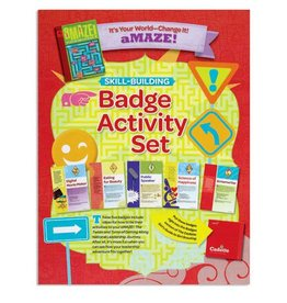 GIRL SCOUTS OF THE USA Cadette It's Your World Badge Pkt