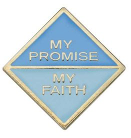 GIRL SCOUTS OF THE USA Daisy My Promise, Faith Pin 2