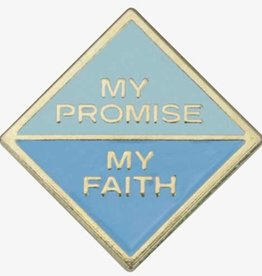GIRL SCOUTS OF THE USA Daisy My Promise My Faith Pin 1