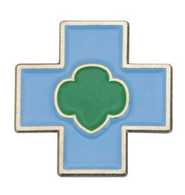 GIRL SCOUTS OF THE USA Daisy Safety Award Pin