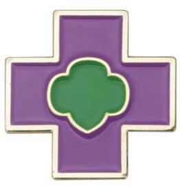 GIRL SCOUTS OF THE USA Junior Safety Award Pin
