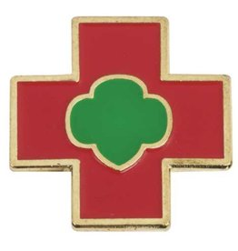 GIRL SCOUTS OF THE USA Cadette Safety Award Pin