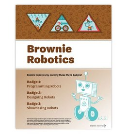 GIRL SCOUTS OF THE USA Brownie Robotics Badge Requirements