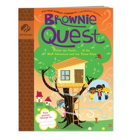 GIRL SCOUTS OF THE USA Brownie Journey Quest Book
