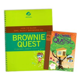 GIRL SCOUTS OF THE USA Leader Set Brownie Quest Journey