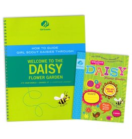 GIRL SCOUTS OF THE USA Leader Set Daisy Flower Garden