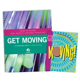 GIRL SCOUTS OF THE USA Leader Set Junior Get Moving