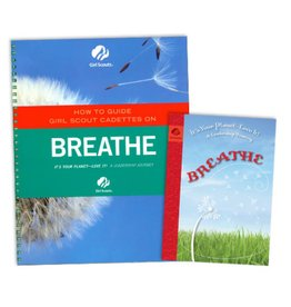 GIRL SCOUTS OF THE USA Leader Set Cadette Breathe