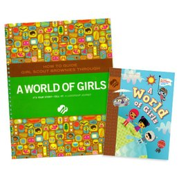 GIRL SCOUTS OF THE USA Leader Set Brownie World of Girls