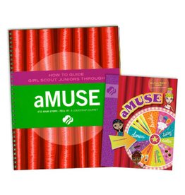 GIRL SCOUTS OF THE USA Leader Set Junior aMuse Books