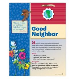 GIRL SCOUTS OF THE USA Daisy Good Neighbor Requirements