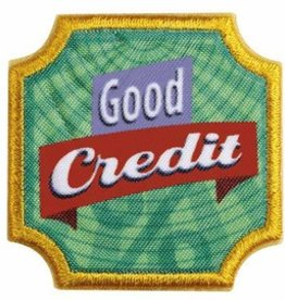 GIRL SCOUTS OF THE USA Ambassador Good Credit Badge