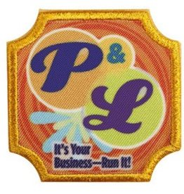 GIRL SCOUTS OF THE USA Ambassador P & L Badge