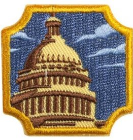 GIRL SCOUTS OF THE USA Ambassador Public Policy Badge