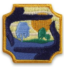GIRL SCOUTS OF THE USA AM Outdoor Art Master Badge