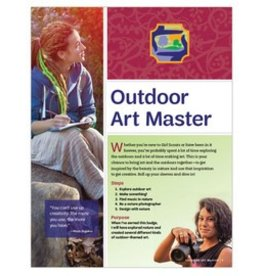 GIRL SCOUTS OF THE USA Ambassador Outdoor Art Master Req.