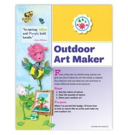 GIRL SCOUTS OF THE USA Daisy Outdoor Art Maker Requirements