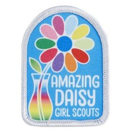GIRL SCOUTS OF THE USA Amazing Daisy Fun Patch