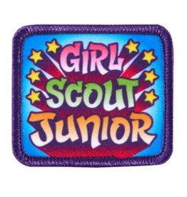 GIRL SCOUTS OF THE USA Girl Scout Junior Patch
