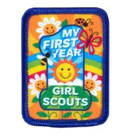 GIRL SCOUTS OF THE USA My First Year Patch