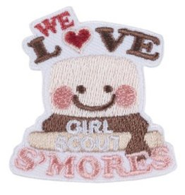 GIRL SCOUTS OF THE USA We Love GS S'mores Patch