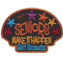GIRL SCOUTS OF THE USA Seniors Make It Happen Patch