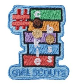 GIRL SCOUTS OF THE USA #CookieBoss Patch