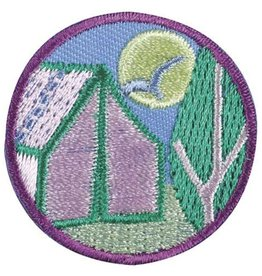 GIRL SCOUTS OF THE USA Junior Camper Badge