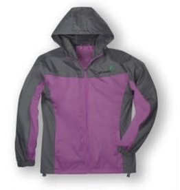 GIRL SCOUTS OF THE USA ! Color Block Rain Jacket 12DOC - Misses XS
