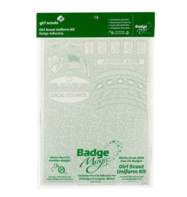 Badge Magic GS Uniform Badge Magic Adhesive Kit