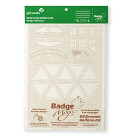 Badge Magic Brownie Uniform Badge Magic Adhesive Kit