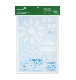 Badge Magic Daisy Uniform Badge Magic Adhesive Kit