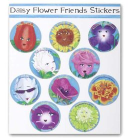 GIRL SCOUTS OF THE USA ! Daisy Flower Character Stickers