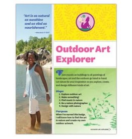 GIRL SCOUTS OF THE USA Junior Outdoor Art Explorer Req.