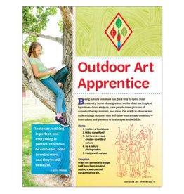 GIRL SCOUTS OF THE USA Cadette Outdoor Art Apprentice Req