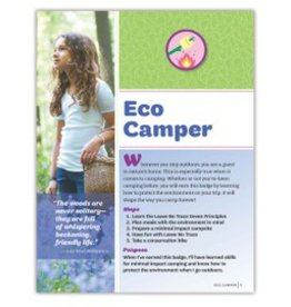 GIRL SCOUTS OF THE USA Junior Eco Camper Requirements