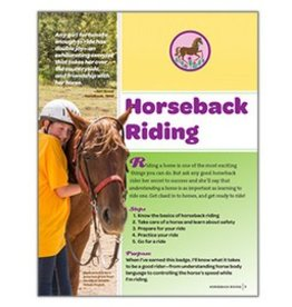 GIRL SCOUTS OF THE USA Junior Horseback Riding Req.