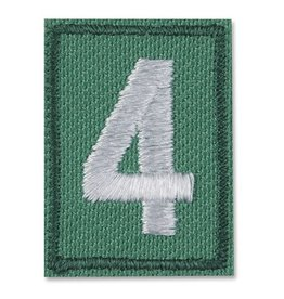 GIRL SCOUTS OF THE USA JR/CDT/SR/AMB Uniform Troop Numerals