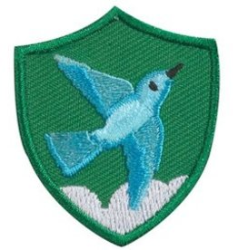 GIRL SCOUTS OF THE USA Bluebird Troop Crest