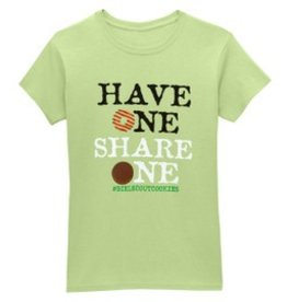 GIRL SCOUTS OF THE USA Cookie Tee - Have One Share One - 2XL