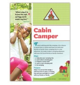 GIRL SCOUTS OF THE USA Brownie Cabin Camper Requirements